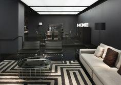 Interior Design News Minotti New York Store with Delightfull Unique Lamps
