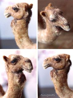 Nadel Gefilzte Kamel Weihnachten Krippe Tier von Ainigmati auf Etsy