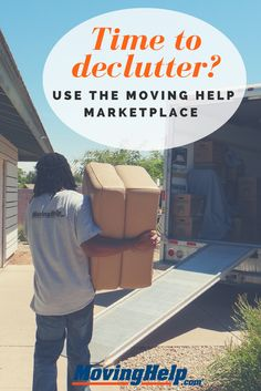 Is it that time of the year to declutter and clean out the garage? Give Moving Help Marketplace a call! Local Movers, Time Of The Year, Organizing Your Home, Storage Containers, First Step, All You Need Is, Household Items, Organization Hacks, Getting Organized