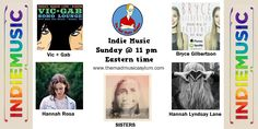 Tune in tonight for indie music at 11 pm eastern. http://www.streamlicensing.com/play/player.php?sid=2793&stream_id=4802
