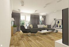 Nowoczesny salon w apartamencie w Tomaszowie Mazowieckim - zdjęcie od design me too - Salon - Styl Nowoczesny - design me too
