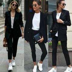 Back to School-Outfit Most recent Pic Business Outfit herbst Tips Mode baddieBusinessOutfit Business BusinessOutfit Herbst outfit Outfit ideen pic SchoolOutfit Tips Trajes Business Casual, Business Casual Outfits, Business Attire, Office Outfits, Business Fashion, Business Casual Sneakers, Mode Outfits, Chic Outfits, Trendy Outfits
