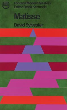 Jamie Shovlin, Matisse by David Sylvester (Variation 1A)