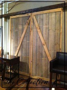 Diy Faux Barn Doors To Do With The Sliding Barn Door