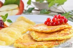 Receita de Omelete dois queijos ao forno