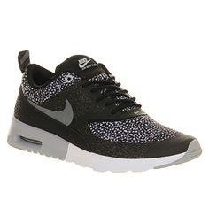 Nike Air Max Thea Black Wolf Grey White