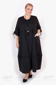 Платье PP305 02 BLK большое фото 1