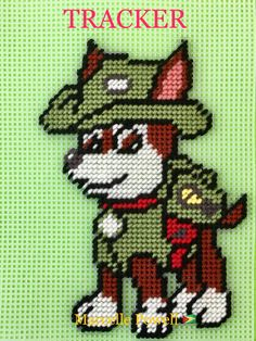 TRACKER of Paw Patrol Wall Hanger by Marcelle Powell ❤️