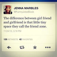 friend zone.