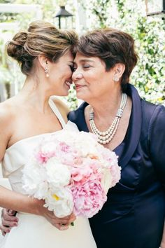 This mother of the bride looks radiant in pearls via Style Me Pretty Wedding Blog, Dream Wedding, Wedding Ideas, Wedding Night, Wedding Pictures, Wedding Bride, Mother Of The Bride Looks, Mother Pictures, Best Friend Wedding