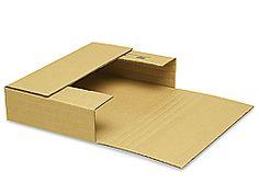 "9 1/2 x 6 1/2"" Kraft Easy-Fold Mailers"