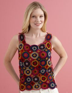 Inside Out Circles Top: free pattern