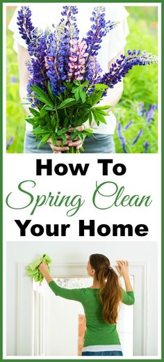 How to Spring Clean Your Home - This spring cleaning 101 resource guide includes spring cleaning tips, spring cleaning schedules, spring cleaning checklists & more! This will make your deep cleaning so much faster and hopefully easier!  homemaking  home organization  Cleaning tips