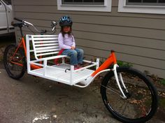 Cargo Bike made by me. So much fun to ride!