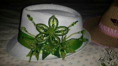 Sombrero con tembleques panameños para pedido contactar al correo adargelis85@hotmail.com