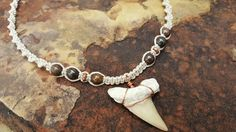 Check out this item in my Etsy shop https://www.etsy.com/listing/472431096/mens-hemp-necklace-fossilized-shark