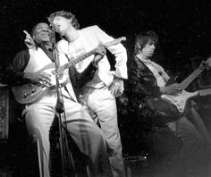 Muddy Waters and The Rolling Stones.