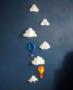 DIY : NUAGES EN PAPIER | HELLO SUPERETTE
