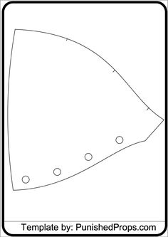 Shoulder Pattern for Costume Armor - Punished Props