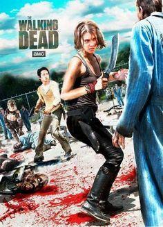 The Walking Dead // Maggie & Glenn                                                                                                                                                                                 More