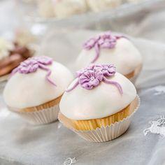 Muffins für Blumenliebhaber