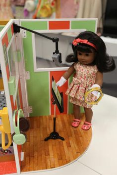 Meet American Girl's New Historic Doll From The Civil Rights Era.   Melody Ellison is American Girl's newest African-American character.  Melody's hobby  Melody loves to sing and is also a member of her church choir. She comes with her own recording studio, paying homage to Motown. The Motor City label allowed American Girl to use some of its vintage tunes.