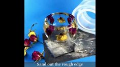 Rose Resin Bangle. Brief Overview how I created this bangle. Using ALAMO...