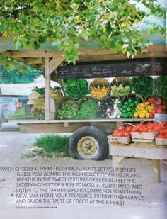 Fruit Market Display Farm Stand 35 New Ideas Farmers Market Display, Market Displays, Produce Market, Vegetable Stand, Produce Stand, Farm Business, Farm Store, Future Farms, Fruit Stands