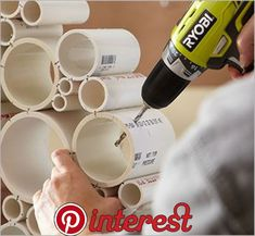 icu ~ Pin on Outdoor Projects ~ DIY PVC pipe privacy screen! DIY a new and beautiful privacy screen with some pvc.