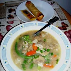 Easy recipe for sizzling rice soup