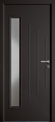 porte acier porte entree bel 39 m classique poignee. Black Bedroom Furniture Sets. Home Design Ideas