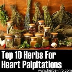 Too 10 herbs for heart palpitations