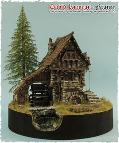 Lots of cool model buildings to use for encounters