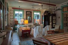 Fish Camp Beach Cottage - beach style - family room - by Historical Concepts Cottage Style Living Room, Beach Cottage Style, Beach House Decor, Country Living, Coastal Style, Cozy Cottage, Coastal Cottage, Coastal Living, Urban Cottage