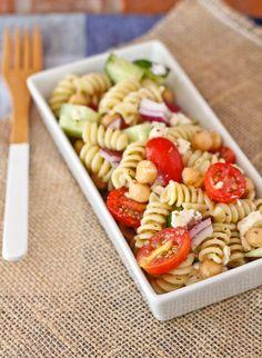 Greek Pasta Salad wi