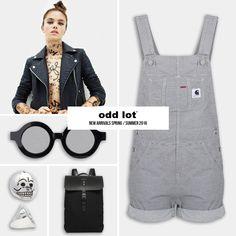 Eleven Paris - Jacket Carhartt - Salopette Cheap Monday - Sunglasses, ring Sandqvist - Bag
