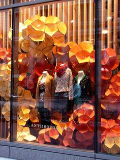 "Beautiful Window Displays!: Anthropologie ""Kaleidoscopic Colors"" Window Displays"