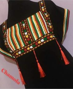 Robe traditionnelle algérienne