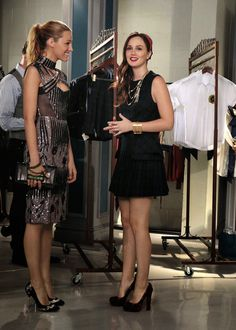 """Blair and Serena in """"Save The Last Chance"""""""