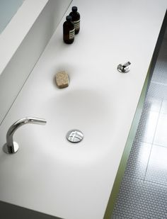 Nivis washbasin by Shiro Studio for Agape