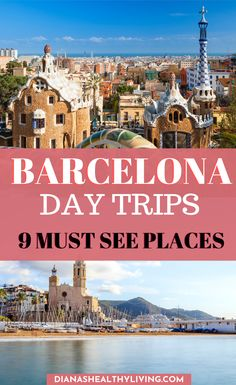 Looking for the best day trips from Barcelona, Spain? Here are the perfect day trips from Barcelona. Escape the bustle of Barcelona on a day trip Barcelona Day Trips, Barcelona Travel Guide, Europe Travel Guide, Travel Guides, Travel Destinations, Barcelona Sights, Travelling Europe, Traveling, European Destination