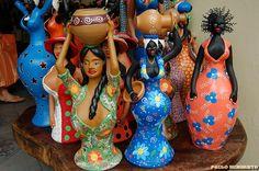 Artesanato em Barro, by PAULO HUMBERTO, via Flickr  made in Caruaru/PE/BRASIL