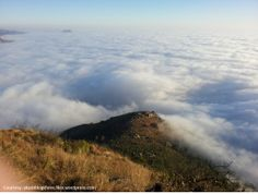 Heavenly view of the city from the top of #NandiHills.
