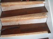 Laminate Flooring On Stairs Diy Staircase, How To Glue Laminate Flooring Stairs