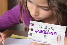 You may be homeschooled if... some fun responses to start your week off! | Hip Homeschool Moms