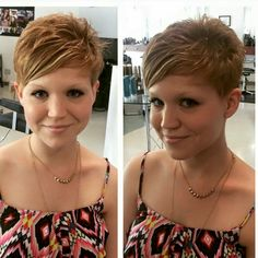 Hair Beauty - Cute Pixie Cuts will Give You a New Look Cute Hairstyles For Short Hair, Short Hair Cuts For Women, Pixie Hairstyles, Short Hair Styles, Gray Hairstyles, Short Haircuts, Blonde Pixie Cuts, Sassy Hair, Haircut And Color