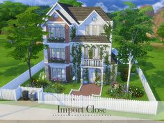 Welcome to Import Close Found in TSR Category 'Sims 4 Residential Lots'