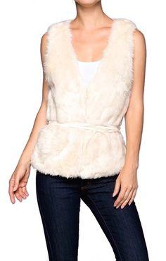 Bethany Faux Fur Vest