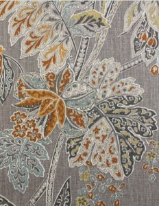 Fabric for Sofa, Charis and SectionalsFabric price based on cut-yardage. For more information please call a showroom. Fabric Wallpaper, Pattern Wallpaper, Huntington Homes, Orange Fabric, Decorative Trim, Printed Linen, Fabric Decor, The Hamptons, Interior Decorating