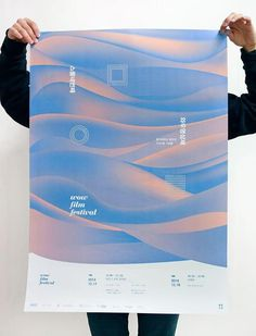 Landscape elements but stylised simplified forms and or colour Poster Layout, Poster Ads, Typography Poster, Typography Design, Web Design, Layout Design, Logo Design, Type Design, Editorial Design